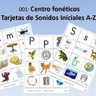 Lectura Para Ninos001: Initial Sound Picture Cards: Sorting