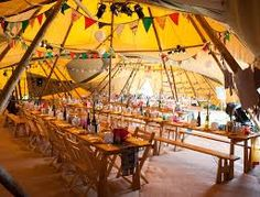 giant hat tent wedding - Google Search