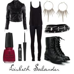 """Lisbeth Salander"" by character-inspired-style on Polyvore"
