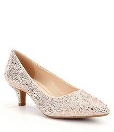 a02c76a6df41 Alex Marie Zhoey Stone Embellished Dress Pumps Lauren Scott
