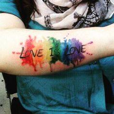 big day for America yesterday💜💚💛💙❤️👬👭👰🇺🇸 #lovewins #loveislove #makinghistory #rainbow #equality #supportlove #pretty #prettytattoo #prettytattoos #cute #cutetattoo #cutetattoos #cutegirlytattoos #tatted #tattoed #ink #inked #50StatesofLove