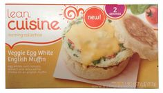 QUICK REVIEW: Lean Cuisine Morning Collection Veggie Egg White English Muffin