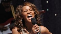 Whitney Houston performs in New York's Central Park in 2009.