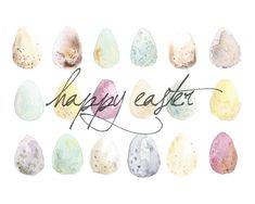 just the bee's knees: Free Easter Watercolor Printables and Screensaver!