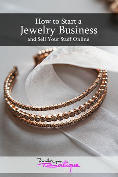 Sell jewelry from the comforts of home by taking a look at our guide on to successfully sell jewelry online and make some money.    #jewelry #online #business