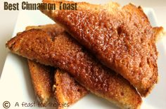 Make most scrumptious cinnamon toast EVER with this recipe and 45 BEST Shabby Lifestyle Decor & Accessory DIY Tutorials EVER!!  From MrsPollyRogers.com