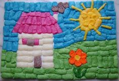 Crafts For Kids, Arts And Crafts, Art N Craft, Art Plastique, Games For Kids, Preschool, Creations, Kids Rugs, Animation