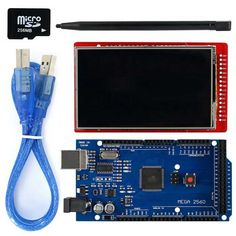"""OPEN-SMART 3.2 inch TFT LCD Shield Kit w / TF card / touch pen / USB cable / UNO R3 for Arduino. Find the cool gadgets at a incredibly low price with worldwide free shipping here. 3.2"""" TFT LCD Touch Screen LCD Shield Kit w/ TF card for Arduino, Kits, . Tags: #Electrical #Tools #Arduino #SCM #Supplies #Kits"""