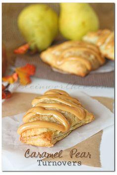 Caramel Pear Turnovers on MyRecipeMagic.com