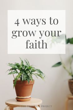 More faith can help you obtain ANY desire, reach any goal, or solve any problem. Click through to learn about 4 ways you can develop your faith to create actual, tangible results in your life. Stress And Mental Health, Improve Mental Health, Trust Yourself, Take Care Of Yourself, Finding Yourself, Dealing With Grief, Dealing With Stress, Make An Effort, Make Time