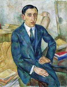 Joaquim Sunyer (Spanish, 1874-1956), Portrait of Josep M. Albiñana, 1918-19. Oil on canvas. Asociación Colección Arte Contemporáneo, Museo Patio Herreriano.