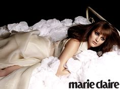 my girlllllllllll. #LeightonMeester looking fabulous in Marie Claire.