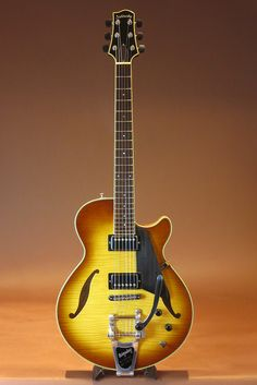 SADOWSKY GUITARS[サドウスキー サドスキー] Semi Hollow w/Bibsby Caramel Burst 2011|詳細写真