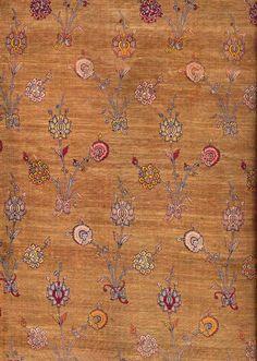 फारसी वस्त्र।  सोने के धागे Safavi राजवंश 1501-1722 ईसवी के साथ सिल्क ब्रोकेड: