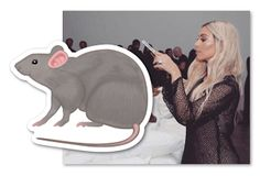 "Kim Kardashian - Rat Emoji Taylor Swift  Taylor Swift fans are flooding Kim Kardashian's Instagram page with rat emojis. Taylor's fans got upset after Kim posted a pic from Kanye West's ""Famous"" video shoot. The image shows a nude Swift wax figure. Kardashian used a snake emoji when she called Swift out about giving Kanye permission to say her name in ""Famous.""  Will this feud ever end? Taylor is holding her own and she has a large fan base to protect her but she's being double teamed. Kim…"