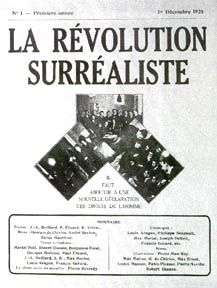 Surrealism is a cultural movement that began in the early 1920s, and is best known for its visual artworks and writings. | La Revolution Surrealiste cover