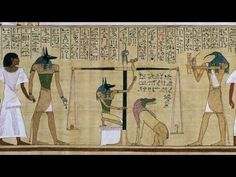 Art History - 400 C.E. Ancient Cultures - Ancient Egypt - Judgement in the Presence of Osiris, Hunefer's Book of the Dead - video