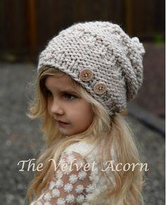 Ravelry: Barton Slouchy pattern by Heidi May Knitting For Kids, Baby Knitting, Heidi May, Velvet Acorn, Knitting Patterns, Crochet Patterns, Knit Crochet, Crochet Hats, Super Bulky Yarn