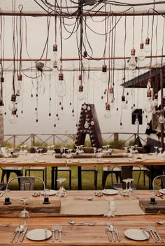 dining room, eating area, lighting, chandelier, lightbulb, hanging, graphic impact, cozy, tent style, place setting, rustic from: The Caledonian Mining Expedition Company