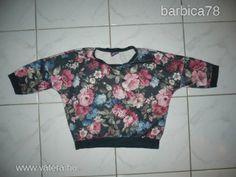 Hoock virágos pulcsi_9-10 év  méret - 1 Ft - Nézd meg Te is Vaterán - Gyerek, kamasz pulóver - http://www.vatera.hu/item/view/?cod=1849105838