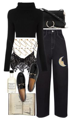"""""""Untitled #10167"""" by nikka-phillips ❤ liked on Polyvore featuring Chloé, ASOS, Valentino, For Love & Lemons, Fresh and Gucci"""