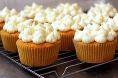 Carrot Cake Cupcakes with Maple Cream Cheese Frosting- Flawless Recipe