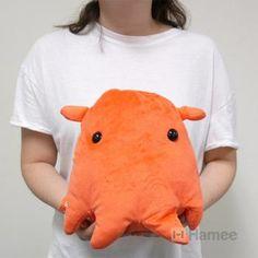 Deep Sea Creature Flapjack Octopus Plush (Round/25 cm)