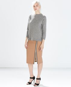 BASIC WOOL SWEATER - Knitwear - WOMAN | ZARA Czech Republic