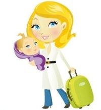 lots of checklists and things to keep in mind. traveling with children