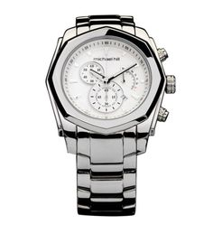 Men's Chronograph Watch from Michael Hill - available in stainless steel and rose, black & silver.