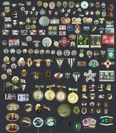 Ferencvaros pin collection
