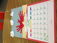 Thing    Hand Print Pictures  Craft Ideas For Kids