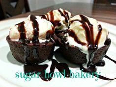 One of my newest favorite treats - Petite Brownie Bites by Sugar Bowl Bakery!