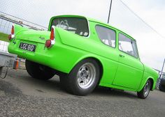 ford anglia pro street   Ford Anglia - Classic Ford Show - Santa Pod 1st June '08   Flickr ...