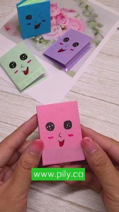 Origami Diy Crafts Hacks, Diy Crafts For Gifts, Diy Arts And Crafts, Fun Crafts, Kawaii Crafts, Paper Crafts Origami, Paper Crafts For Kids, Instruções Origami, Origami Videos