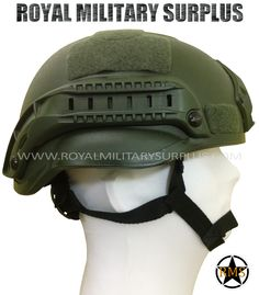 Helmet - MICH TC-2000 - OD GREEN (Olive Drab) - 109.95$ (CAD) - OD GREEN (Olive Drab) MICH (Modular Integrated Communication Helmet) TC-2000 Standard Integrated System Army/Military/Commando/Special Forces Design NVG Mount & Tactical ARC Side Rails 4-Points Retention Chinstrap System Cushions/Pads Adjustement System (Inside) 100% Fiberglass (High Impact Protection) Velcro Panels System Included (Gear & Patch) One Size (Adjustable - Full Size Replica) WWW.ROYALMILITARYSURPLUS.COM