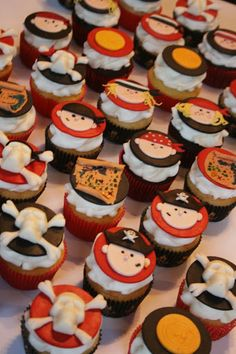 Pirate Cupcakes:  And Everything Sweet