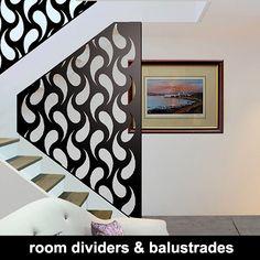 laser cut room dividers and balustrades