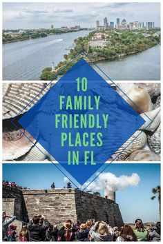10 Family-friendly locations in Florida that are NOT in Orlando. Check out the Panhandle down to the Florida Keys and everywhere in between. From the coral castle to an old stone fort. You'll be amazed at what is in store. Coral Castle, Old Stone, Florida Keys, Universal Studios, Walt Disney World, Friends Family, Orlando, To Go, Vacation