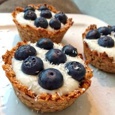 Healthy havermout cups Healthy Cupcakes, Healthy Cake, Healthy Muffins, Healthy Snacks, Healthy Recipes, Vegan Sweets, Vegan Desserts, Delicious Desserts, Yummy Food