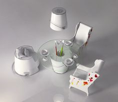 """""""Pracownia""""  is the tenth project of the collection """"XII"""", designed entirely by Karina Wiciak."""