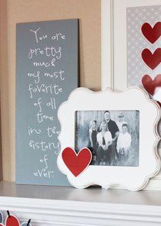 Valentine's Day 2014 Decoration Ideas foto frame