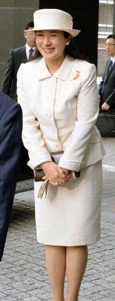 Crown Princess Masako, October 18, 2013   The Royal Hats Blog