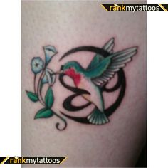 hummingbird tattoo designs for women | Hummingbird Tattoo Sketch 3 by