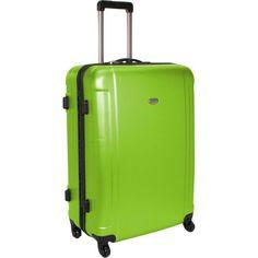 Smiley World Wink Hardside Spinner Luggage Bag Smiley https://www ...