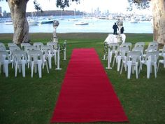 Matilda Bay restaurant Wedding ceremony overlooking the Perth city and Swan River