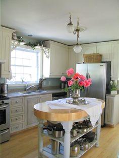 lowest price 53a10 65397 Annie Sloan Chalk Paint Kitchen   The kitchen cabinets were done in Annie  Sloan chalk paint