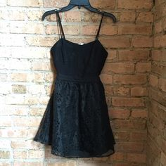 NWT BCBGeneration Black Dress Brand new with tags! Open back :) BCBGeneration Dresses Mini