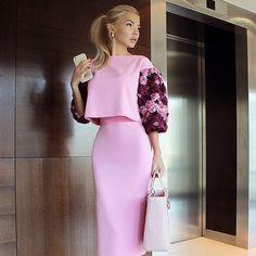 Laksmi Elegant Dresses Womens Dress - Now Outfits Classy Dress, Classy Outfits, Chic Outfits, Dress Outfits, Skirt Fashion, Hijab Fashion, Fashion Outfits, Womens Fashion, Fashion Fashion