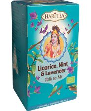 Hari Tea Licorice, Mint & Lavender luo 16/br Hari Tea, Superfood, Lavender, Drinks, Drinking, Beverages, Drink, Beverage, Lavandula Angustifolia